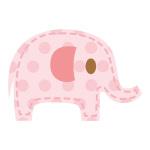 ピンクの象 ミニ